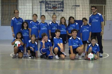 squadra minivolley 2012